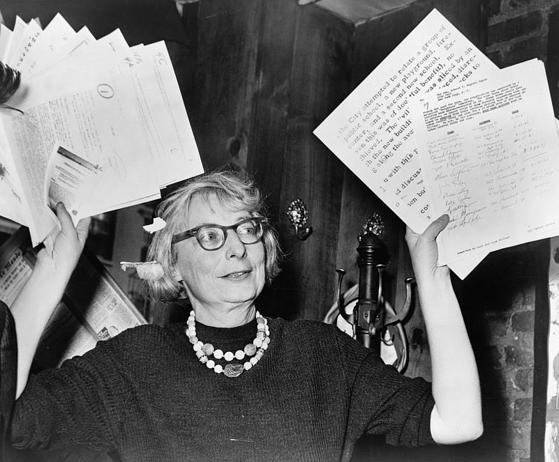 Jane Jacobs en 1961.