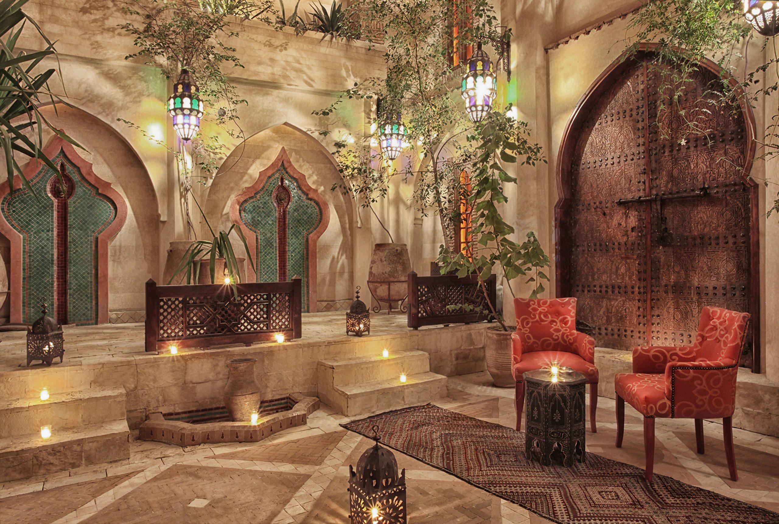 La maison arabe, The Moroccan Restaurant, Marrakech.